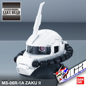 EXM MS-06R-1A ZAKU II HEAD (SHIN MATSUNAGA)