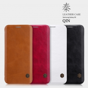 เคสฝาพับ NILLKIN Qin Leather Case Galaxy S9