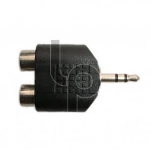 แจ๊ค TR-ST 3.5 mm. ท้าย RCA 2 ทาง