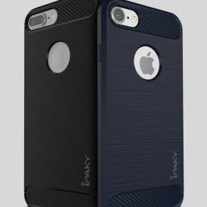 เคสกันกระแทก iPAKY LAKO Series Brushed Silicone iPhone 8 Plus / 7 Plus