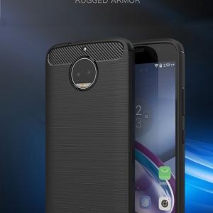 เคสซิลิโคนกันกระแทก Brushed Silicone Moto G5S Plus