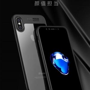 เคสกันกระแทก iPAKY LEWPO Series Acrylic Hard Case iPhone X