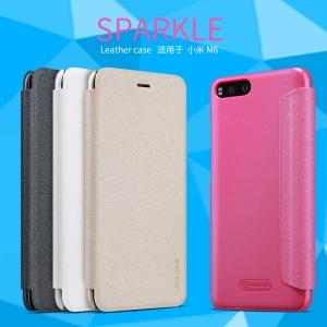 เคสฝาพับ NILLKIN Sparkle Leather Case Xiaomi Mi 6