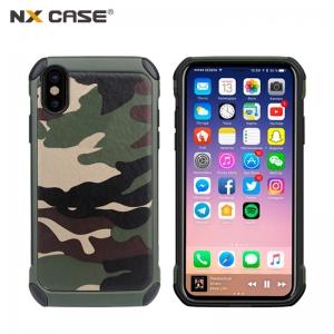 เคสลายพราง / ลายทหาร NX CASE iPhone X