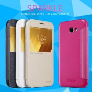 เคสฝาพับ NILLKIN Sparkle Leather Case Galaxy A3 (2017)