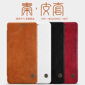 เคสฝาพับ NILLKIN Qin Leather Case OnePlus 3 / 3T
