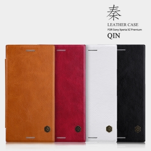 เคสฝาพับ NILLKIN Qin Leather Case Xperia XZ Premium