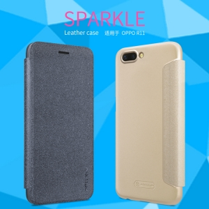 เคสฝาพับ NILLKIN Sparkle Leather Case OPPO R11