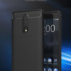 เคสซิลิโคนกันกระแทก Brushed Silicone Nokia 8