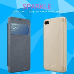 เคสฝาพับ NILLKIN Sparkle Leather Case Zenfone 4 Max / Max PRO 5.5 (ZC554KL)