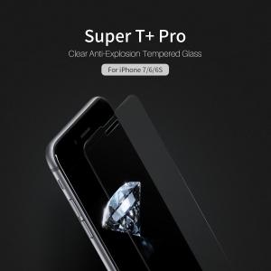 กระจกนิรภัย NILLKIN Super T+ PRO iPhone 8 / 7 / 6S / 6 แถมฟิล์มติดเลนส์กล้อง