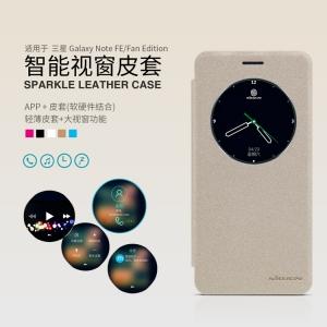 เคสฝาพับ NILLKIN Sparkle Leather Case Galaxy Note FE / Note 7