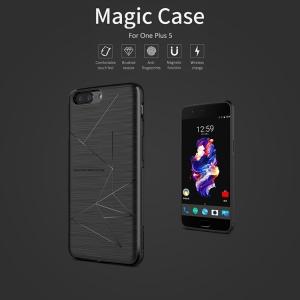 เคส NILLKIN Magic Case และ แผ่นชาร์จไร้สาย Magic Tag OnePlus 5