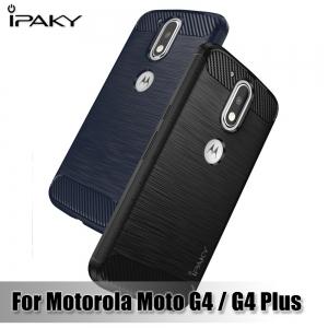 เคสกันกระแทก iPAKY LAKO Series Brushed Silicone Moto G4 Plus
