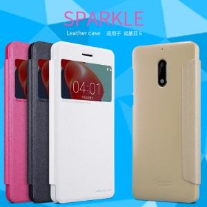 เคสฝาพับ NILLKIN Sparkle Leather Case Nokia 6