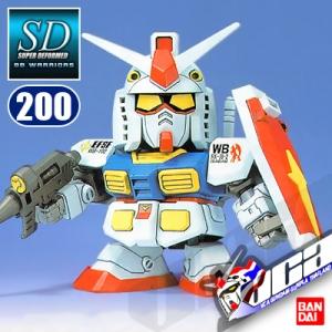 SD BB200 RX-78-2 GUNDAM