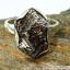 Campo Del Cielo Meteorite แหวนเงินแท้ 925 (แหวนเบอร์ : 57 ,5.9g) thumbnail 3