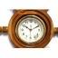 นาฬิกาพวงมาลัยเรือไม้สักทอง 10 นิ้ว thumbnail 4