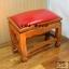 โต๊ะกราบ ไม้สักทองไซส์ใหญ่ [สีแดง] thumbnail 2
