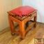 โต๊ะกราบ ไม้สักทองไซส์ใหญ่ [สีแดง] thumbnail 9