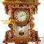 นาฬิกาแกะสลักสไตล์โรมัน(ม้า1ตัว)ไม้สักทอง thumbnail 4