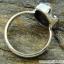 Campo Del Cielo Meteorite แหวนเงินแท้ 925 (แหวนเบอร์ : 57 ,5.9g) thumbnail 5