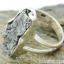 Campo Del Cielo Meteorite แหวนเงินแท้ 925 (แหวนเบอร์ : 55 ,5g) thumbnail 4