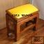 โต๊ะกราบ ไม้สักทองไซส์เล็ก [สีเหลือง] thumbnail 8