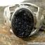 Black Aura Druzy แหวนเงินแท้ 925 (แหวนเบอร์ : 53 , 4.8g ) thumbnail 3