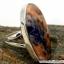 โซดาไลท์ Orange Sodalite แหวนเงินแท้ 925 (แหวนเบอร์ : 53 , 5.1g ) thumbnail 6