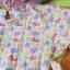 เสื้อเด็ก D7 (3-4 ขวบ) ลายช้างสีเหลือง แขนระบาย thumbnail 2
