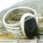 ซันสโตน Black Sunstone - แหวนเงินแท้ 925 (แหวนเบอร์ : 58) thumbnail 5