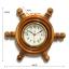 นาฬิกาพวงมาลัยเรือไม้สักทอง 10 นิ้ว thumbnail 1