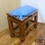 โต๊ะกราบ ไม้สักทองไซส์ใหญ่ [สีน้ำเงิน] thumbnail 2