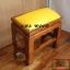 โต๊ะกราบ ไม้สักทองไซส์เล็ก [สีเหลือง] thumbnail 3