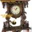 นาฬิกาแกะสลักสไตล์โรมัน(ม้า1ตัว)ไม้สักทอง สีโอ๊ค thumbnail 6