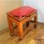 โต๊ะกราบ ไม้สักทองไซส์ใหญ่ [สีแดง] thumbnail 3