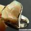 โอปอล (Opal)เอธิโอเปีย แหวนเงินแท้ 925 (แหวนเบอร์ : 61 , 3.9g) thumbnail 2