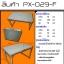 โต๊ะปิกนิกพับได้ KOMMET รุ่น PX-029-F (โต๊ะเดี่ยว) thumbnail 2