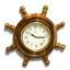 นาฬิกาพวงมาลัยเรือไม้สักทอง 14 นิ้ว thumbnail 5