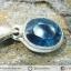 ไคยาไนต์ Teal Blue Kyanite -จี้เงินแท้ 925 (1.5g) thumbnail 2