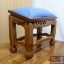 โต๊ะกราบ ไม้สักทองไซส์ใหญ่ [สีน้ำเงิน] thumbnail 6