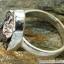 Campo Del Cielo Meteorite แหวนเงินแท้ 925 (แหวนเบอร์ : 57 ,5.9g) thumbnail 4