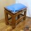 โต๊ะกราบ ไม้สักทองไซส์ใหญ่ [สีน้ำเงิน] thumbnail 7