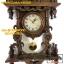 นาฬิกาแกะสลักสไตล์โรมัน(ม้า1ตัว)ไม้สักทอง สีโอ๊ค thumbnail 7