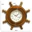 นาฬิกาพวงมาลัยเรือไม้สักทอง 16 นิ้ว thumbnail 1