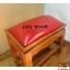 โต๊ะกราบ ไม้สักทองไซส์ใหญ่ [สีแดง] thumbnail 11