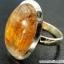 คาโคซีไนท์ Golden Cacoxenite - แหวนเงินแท้ 925 (แหวนเบอร์ : 62) thumbnail 4