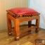 โต๊ะกราบ ไม้สักทองไซส์ใหญ่ [สีแดง] thumbnail 8