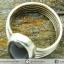 ซันสโตน Black Sunstone - แหวนเงินแท้ 925 (แหวนเบอร์ : 58) thumbnail 7